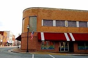 Lawrenceville, Virginia - Corner in downtown Lawrenceville