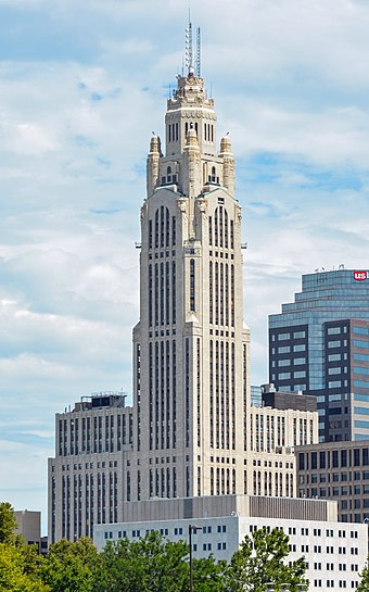 The LeVeque Tower LeVeque Tower, Columbus, OH, US crop.jpg