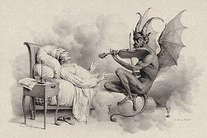 "Violin Sonata in G minor (Tartini) - ""Tartini's Dream,"" by Louis-Léopold Boilly (1824)"