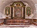 Le retable tridentin de la chapelle de Sainte-Florine dégradé en 2012.JPG