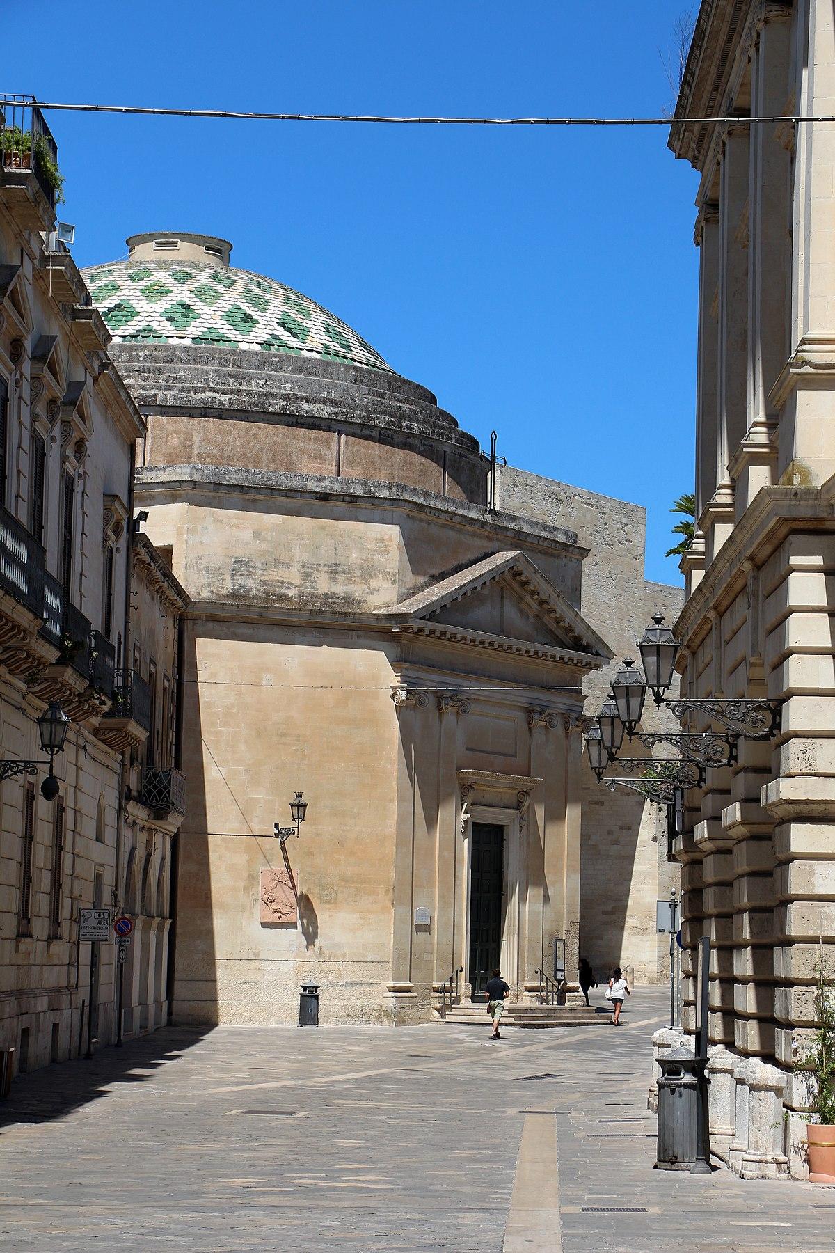 Chiesa di santa maria della porta o di san luigi wikipedia - Architetto lecce ...