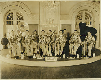 """Duke Ambassadors - George """"Jelly"""" Leftwich and His Blue Devils in the late 1920s; Courtesy of the Duke University Archives"""