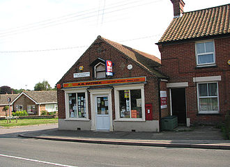 Lenwade -  The post office