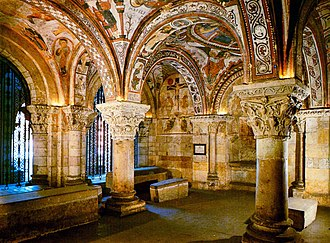 The Basilica of San Isidoro, Leon Leon (San Isidoro, panteon).jpg