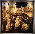 Leonardo, adorazione dei magi (restaurata 2017), 1481-82, 01.jpg