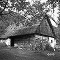 Lesena kmetska hiša z leta 1664, u Kamnah, Gorenji Novaki 1954 (2).jpg