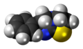 Levamisole molecule spacefill.png