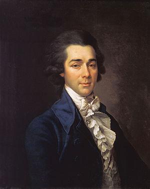 Nikolay Lvov - Portrait by Dmitry Levitzky, 1780s