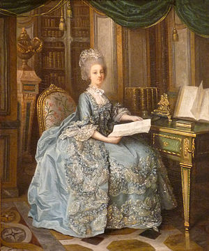 Sophie of France (1734–1782) - Sophie, previously thought to be a portrait of Marie Antoinette
