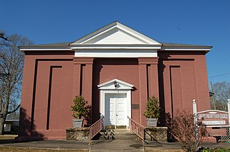 National Register of Historic Places listings in Amite County, Mississippi - Image: Liberty Pres. Church
