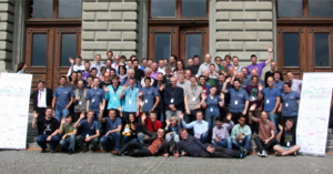 The Document Foundation - Audience of the LibreOffice Conference 2014 in Bern, including member of the Board, the Membership Committee, the Board of Trustees and Employees of the Document Foundation