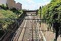 Ligne PLM Paris Lyon vue depuis rue Rambuteau Mâcon 2.jpg