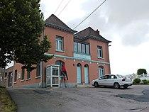 Ligny-lès-Aire (Pas-de-Calais, Fr) mairie.JPG