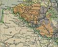 Lille Douai Louvain Bruxelles Paris 1786.JPG