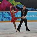 Lillehammer 2016 - Figure Skating Pairs Short Program - Ekaterina Borisova and Dmitry Sopot.jpg