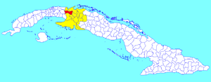 Limonar - Image: Limonar (Cuban municipal map)