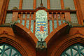 Lindener Rathaus Hannover Balkon Falkenstraße.jpg