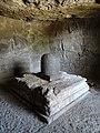 Lingam in Cave - Elephanta Caves - Elephanta Island - Mumbai - Maharashtra - India (26409602035).jpg