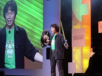 Link (The Legend of Zelda) - Shigeru Miyamoto, creator of Link, at Electronic Entertainment Expo 2004