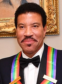 Lionel Richie American singer, songwriter, musician and television personality.