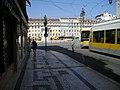 Lisboa - Rua da Prata - Praça da Figueira (39044988935).jpg