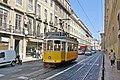 Lisbon tram 573, 2008.JPG