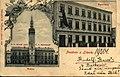 Litovel-radnice + česká škola v Jungmannově ul.-1899.jpg