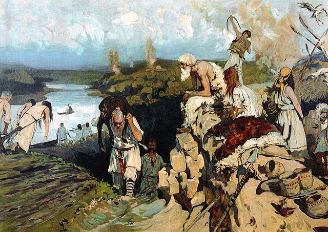 Historia de Dolmatovia 640px-Living_of_East_Slavs_by_Ivanov
