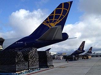 Atlas Air - Loading Cargo in Miami