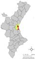 Localització de Ciutat de València respecte del País Valencià.png