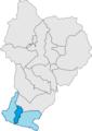 Localització de Peramea respecte del Pallars Sobirà.png