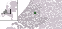 Location of Waddinxveen