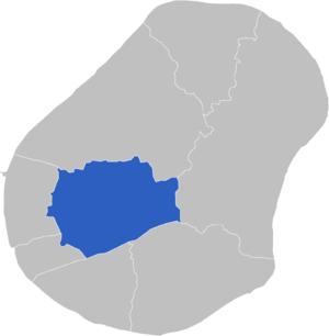 Buada Constituency - Image: Locatie Constituency Buada
