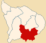 Location of the province Antabamba in Apurímac.png