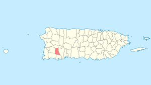 Sabana Grande, Puerto Rico - Image: Locator map Puerto Rico Sabana Grande