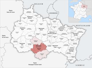 Arrondissement of Chaumont Arrondissement in Grand Est, France