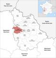 Locator map of Kanton Vouneuil-sous-Biard 2019.png