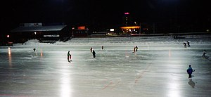 Hamar stadion - Hamar stadion in 1996