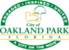 Official logo of Oakland Park, Florida