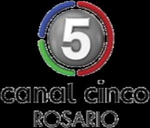 LT 84 TV - Image: Logotipo Canal 5 Rosario