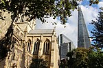 London - Southwark Cathedral & The Shard.jpg