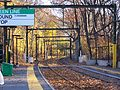 Longwood station in the fall, November 2009.jpg