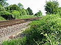 Looking NE along the railway line to Minster - geograph.org.uk - 454379.jpg