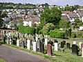 Looking across Third Avenue from Dawlish Cemetery - geograph.org.uk - 1359621.jpg