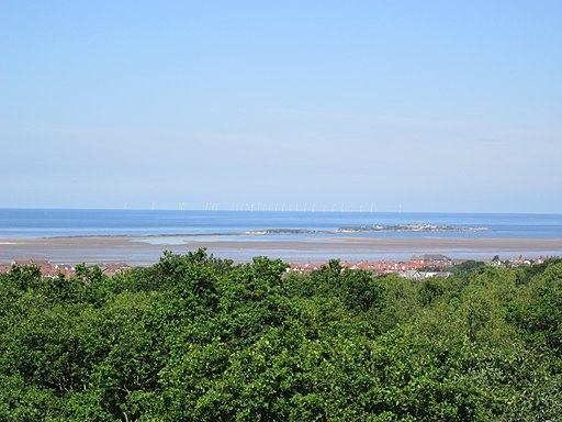 Looking towards Hilbre Island from Caldy Hill - IMG 0823