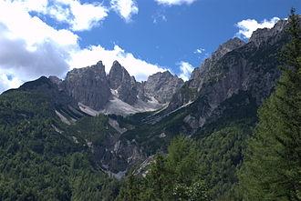 Lorenzago di Cadore - Image: Lorenzago di Cadore Val della Tora