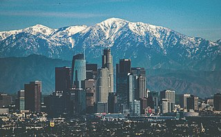 Los Angeles City in California