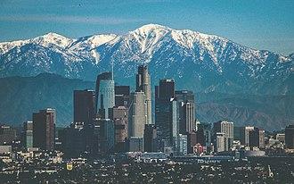 Los Angeles metropolitan area - Downtown Los Angeles in 2016