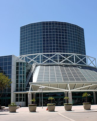 Electronic Entertainment Expo - The Los Angeles Convention Center (west wing view) where the event is annually held.