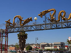 Entrance to Los Angeles' Chinatown